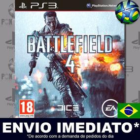 Battlefield 4 - Ps3 - Código Psn - Dublado Em Português !!