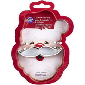 Wilton Molde Navideño Para Galletas Santa Claus