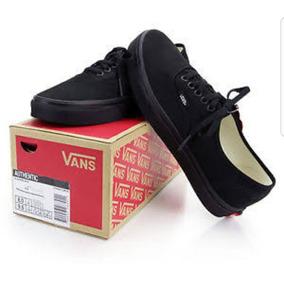 Vans Authentic Originales Negro Monocromo Footsport_gdl