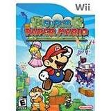 Nintendo Wii Super Mario De Papel