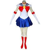 Traje De Cosplay Niños Dazcos Sailor Moon Tsukino Usagi (ch