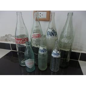 Coca Cola, Pepsi Y Fanta Lote Botellas
