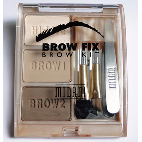 Kit Sobrancelha Brow Fix Milani 01light Ou 03 Dark