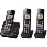 Telefone Sem Fio Com 2 Ramais, Secretária Eletronica E Bina