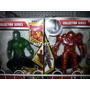 Figuras Avengers Hulk Spiderman Ironman Mole Batman Thor