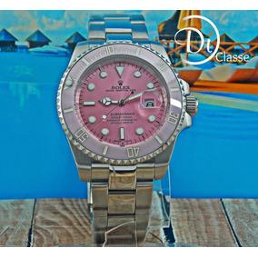 Reloj Role Submariner Rosa + Envio Gratis