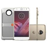 Smartphone Motorola Moto Z2 Play Ouro Sound Edition Sound E
