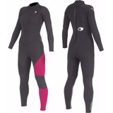 Long John Neoprene 3/2mm Mormaii Diva 4 Feminino 2017