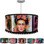 Lámpara Colgante Pantalla Con 2 Luces 6 Imagenes De Frida