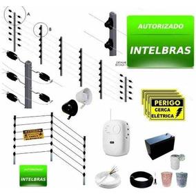 Kit Cerca Elétrica Industrial 100m Big Haste Intelbras