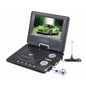Dvd Portatil Superlux 8 Tv Lcd Con Videojuegos Radio Usb Sd