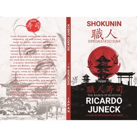 Livro Shokunin Especialista Do Sushi