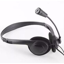Audifono Diadema Con Microfono Slim Ajustable Pc Laptop