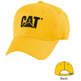 Gorra Cat Yellow - W01791-555