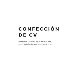 Redacción Diseño Curriculum Vitae