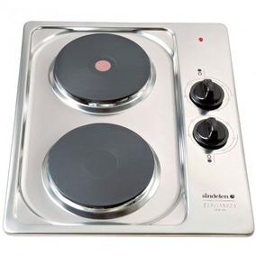 Cocina Encimera Electrica Ce2e-435 Inox Sindelen
