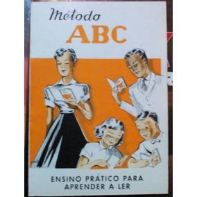 Cartilha Método Abc (antigo Material Escolar Anos 70)