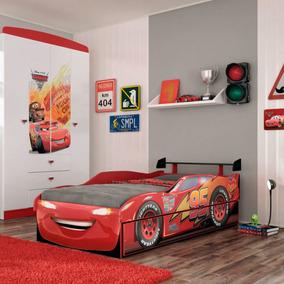 Bicama Infantil Carros Disney Fun Pura Magia Vermelho Fiwt