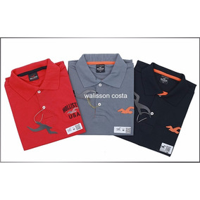 Kit 10 Camisas Polo Lacoste,osklen,jhon Jhon,calvin Klein