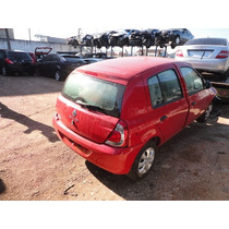 Sucata Reno Clio Expression 2014 1.0 16v Motor/caixa/lataria