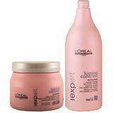 Kit Lumino Contrast Shampoo 1500ml E Máscara 500gr