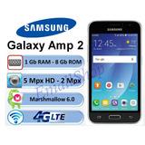 Telefono Celular Android Samsung Galaxy Amp2 Pantalla 4.5