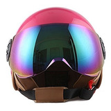 Casco 1storm Scooter Glossy Pink Para Mujer