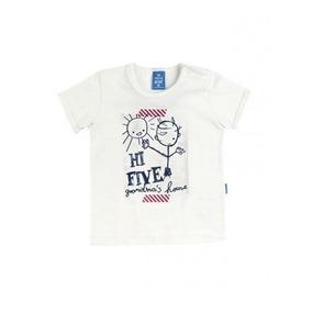 Camiseta Bebe Menino Hering Kids Estampa Hi Five