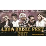 Lima Music Fest // Vip Y Platinium