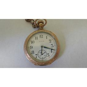 Relógio De Bolso Elgin