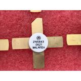 Transistor De Rf 2n5643 2n 5643 Motorola