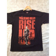 Camisa The Walking Dead Rise Up - Produto Oficial (netflix)