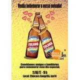 Arte Digital - Convite Chá Bar Garrafas Apaixonadas - Brahma