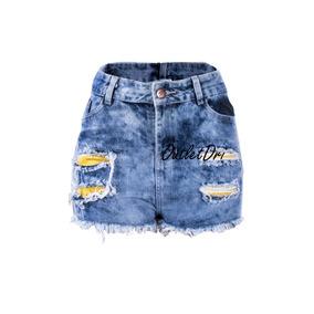 Saia Jeans Femininos Hot Pants Promoção Limpa Tudo 2018