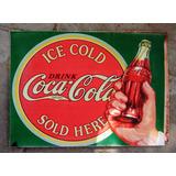 Individuales Estampados Eco Cuero Vintage - Coca Cola