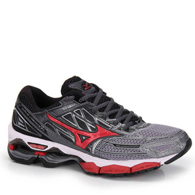 Tênis Running Masculino Mizuno Wave Creation 19 - Cinza