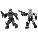 Mega Bloks Halo Figuras Osdt Armaduras, Pack Of 2