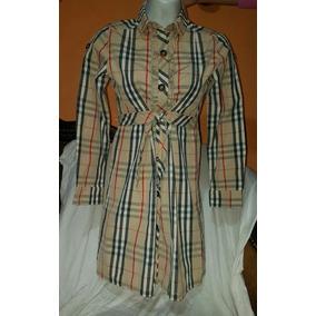 Remato Burberry, Precioso Vestido 12 Años Original