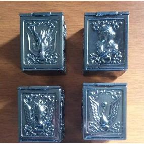 Lote De 4 Pandora Box - Cavaleiros Do Zodíaco (resina)