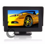Tela Monitor Automotivo Lcd Tft 4.3 Camera De Ré Dvd Carro