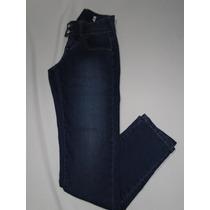 Calça Jeans 2 Botoes Brilho Tam 38