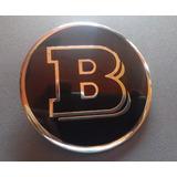 Centro Rin Mercedes Benz Brabus 75mm Tapa Emblema Llanta Amg
