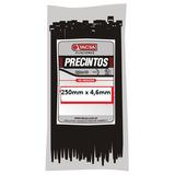 Precintos Plásticos Tacsa 100 Unidades 200mm X 4,6mm (20cm)
