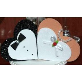 Coração Em Eva Simbolizando Noivos