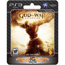 God Of War Ascension - Portugues [ Midia Digital | Ps3 ] **