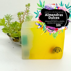 Jabón De Almendras Dulces.
