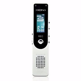Grabadora Digital Xion Voz Reproductor Disp Led 8gb Xirec