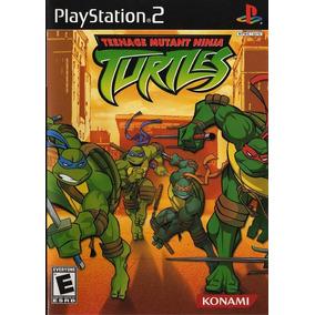 Jogo Ps2 Tartarugas Ninjas Turtles 1 + Frete Grátis.