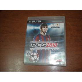 Juego Para Play 3 Pes 2010 Pro Evolution Soccer Fisico Ps3