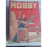 Revista Hobby 94 Mayo 1944 Carpinteria Estante De Pared